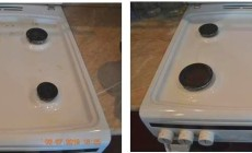Советы, как отмыть плитку на кухне от жира