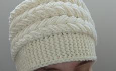 Мастер-класс по вязанию шапки-кубанки