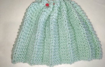 Мастер-класс по вязанию юбки плиссе