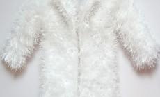 Создаем кардиган платочной вязки спицами