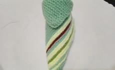 Пошаговый мастер-класс по вязанию тапочек-носков спицами