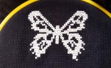 Инструкция по вышивке бабочки