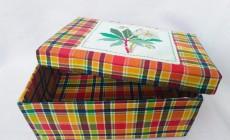 Как сделать шкатулку для рукоделия из обувной коробки