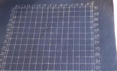 ТОП-3 самых удобных способа разметки канвы под вышивку