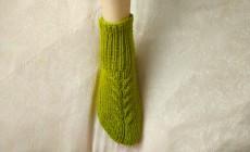 Мастер-класс по вязанию носков на двух спицах