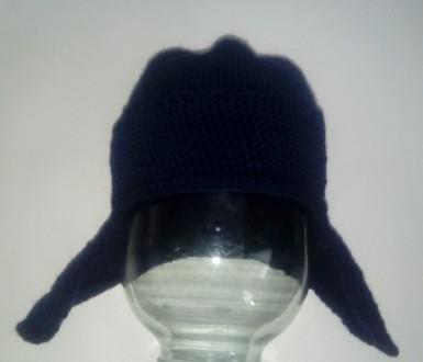 Мастер-класс по вязанию шапки ушанки спицами