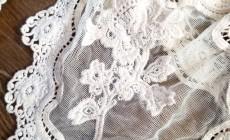 Примеры работ вышивки на сетке