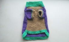 Как связать свитер для йорка спицами?