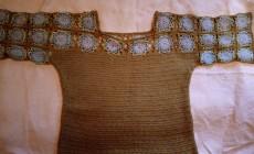 Как связать платье из мотивов крючком?