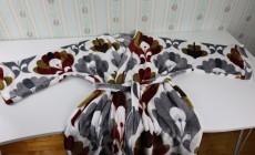 Купила в светофоре плед за 345 рублей и сшила теплый халат
