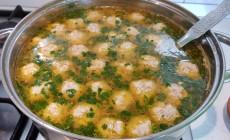 Как приготовить суп с фрикадельками?