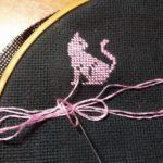 вышиваем котенка