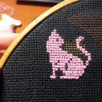вышиваем котика