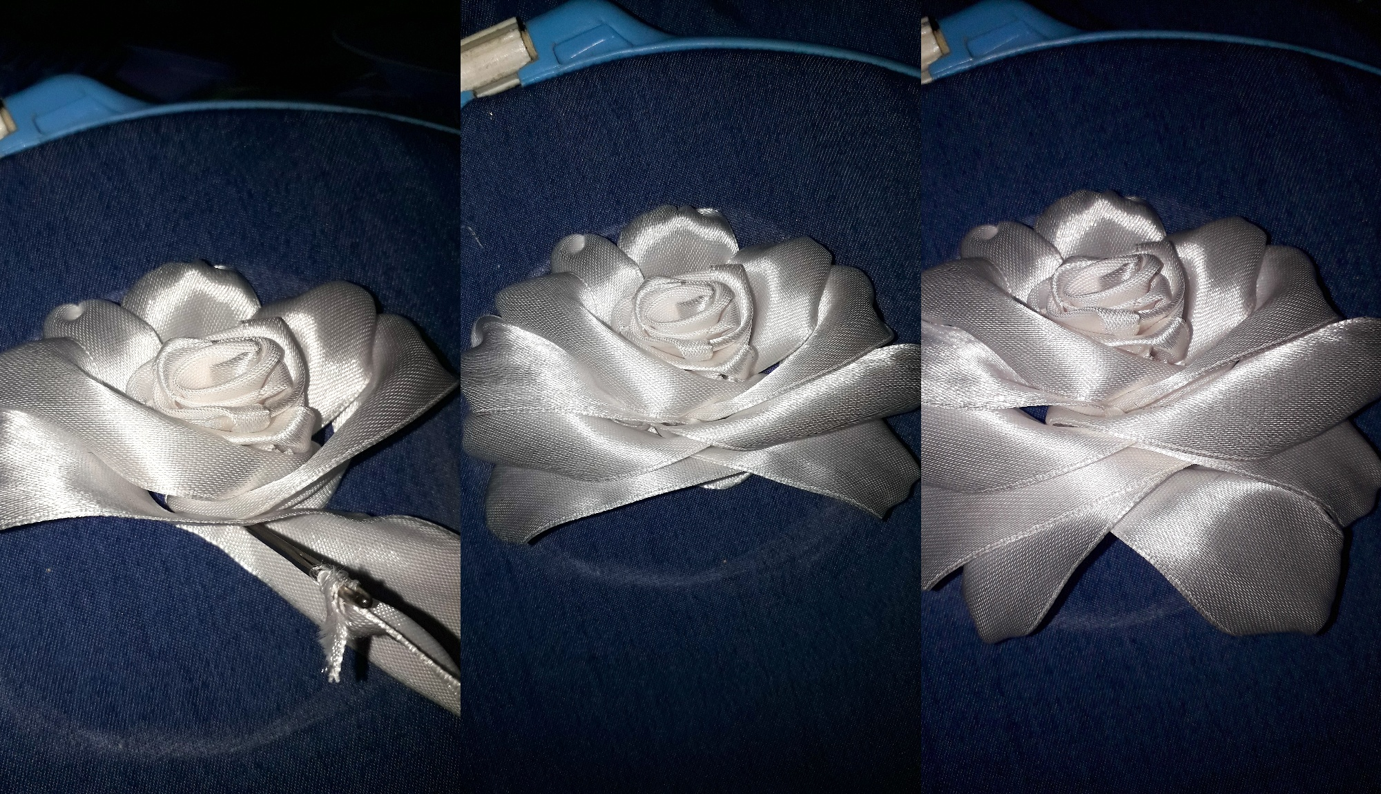 Мастер-класс по вышивке лентами розы