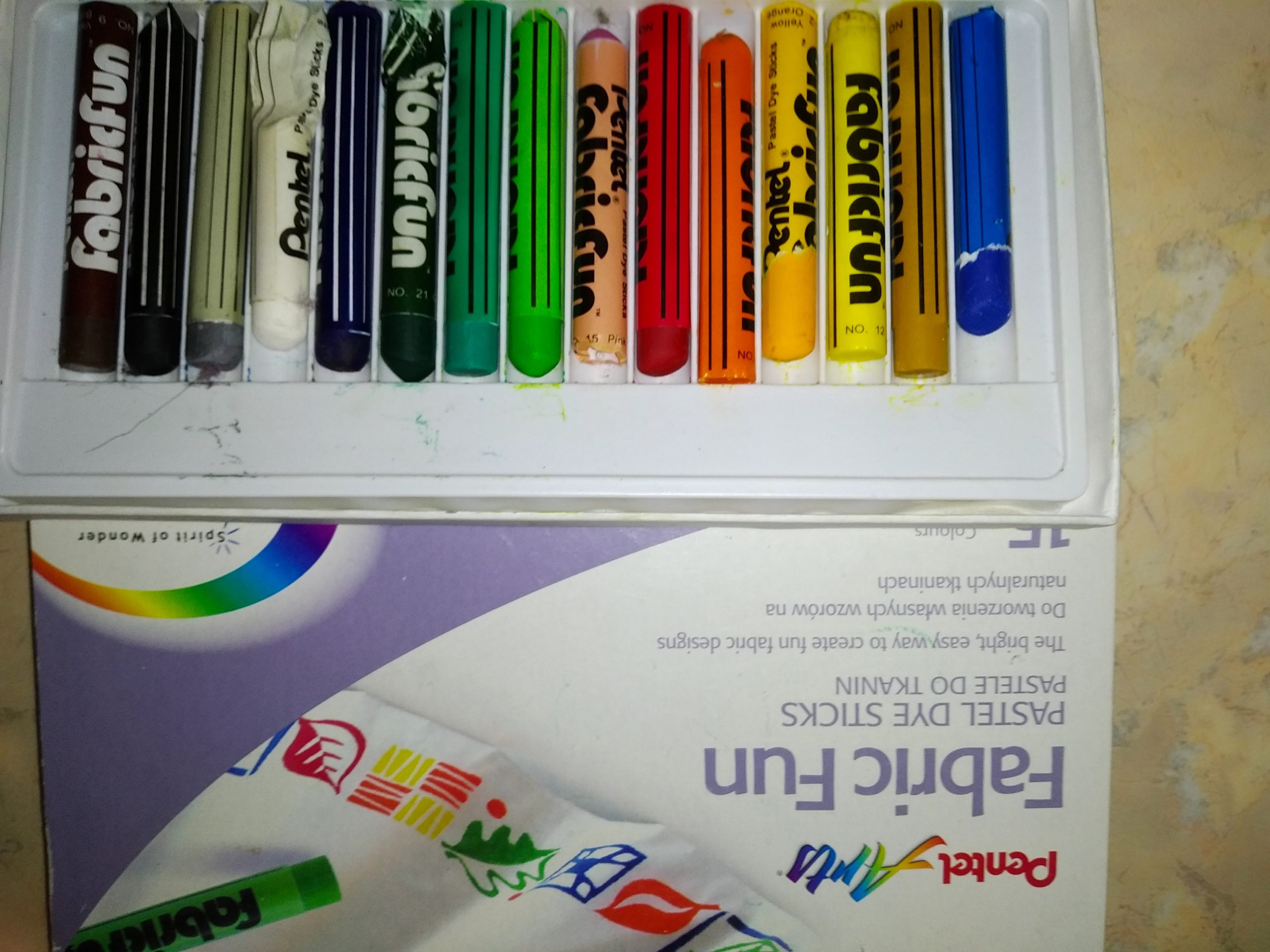 Пастельные карандаши