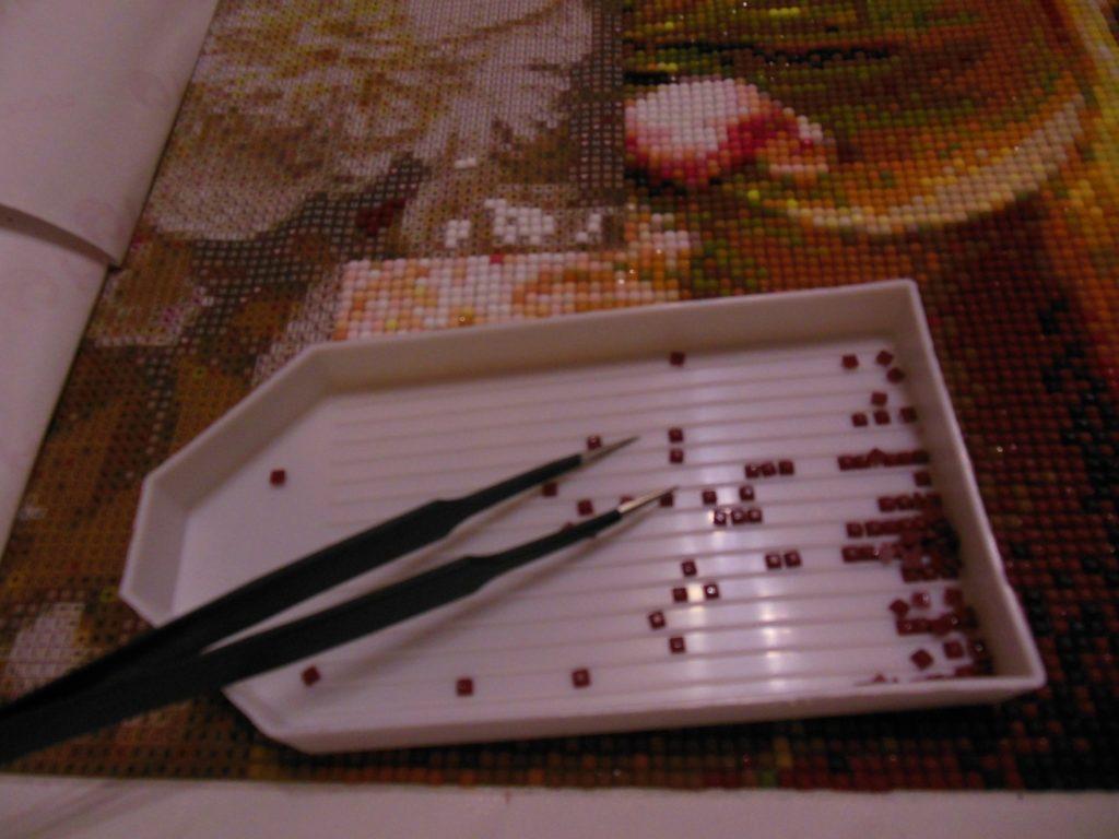 бисер для алмазной мозаики