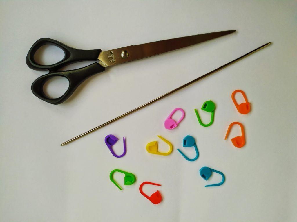 инструменты для вязания ажурных носков