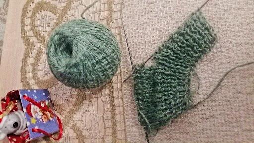 как связать детские носочки на двух спицах