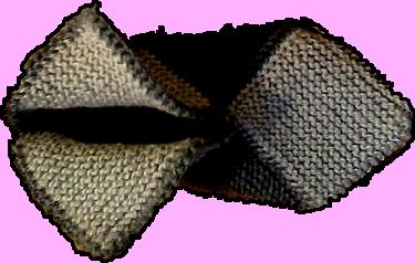 тапочки из квадратов