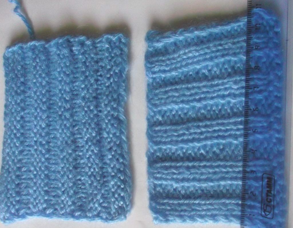 вязание шарфа