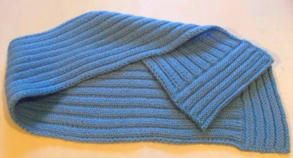 готовый шарф