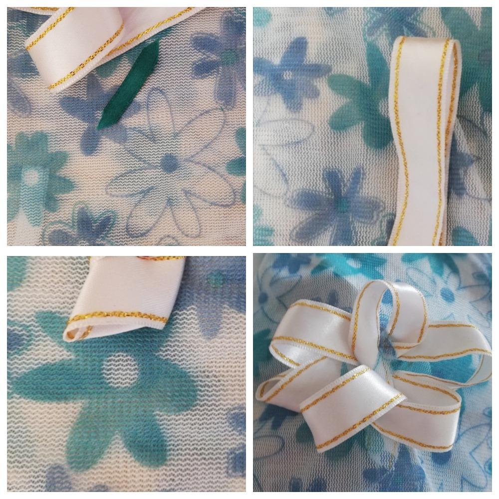 вышивка лентами пионы