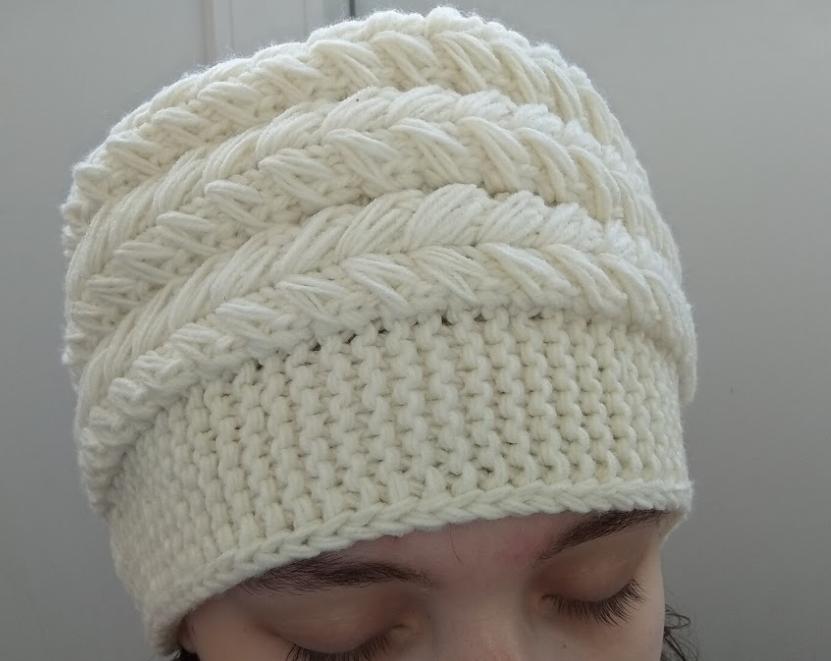 как связать шапку-кубанку спицами мастер класс