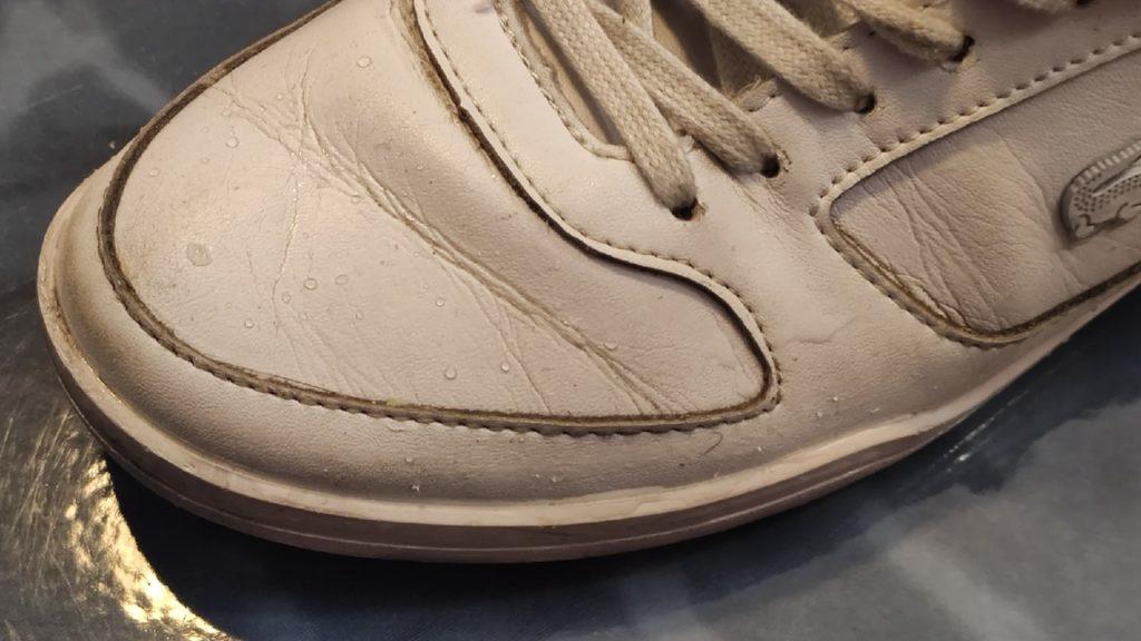 водоотталкивающий эффект на обуви
