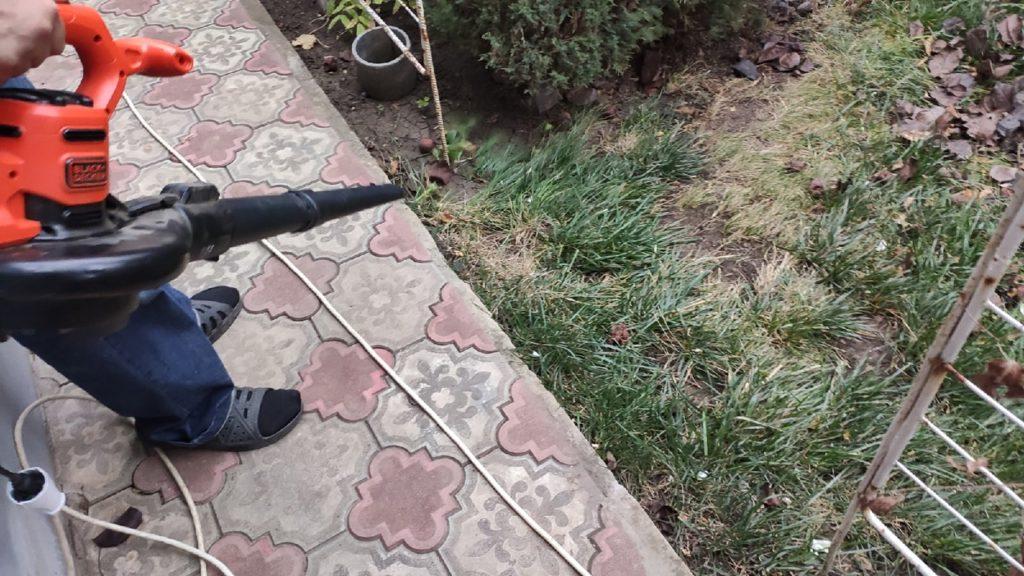 Садовый пылесос