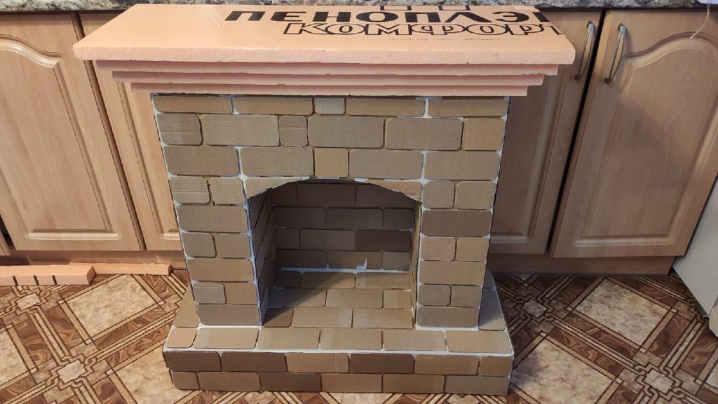 Пошаговая инструкция, как сделать камин самостоятельно