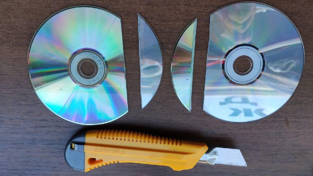 Шкатулка из дисков