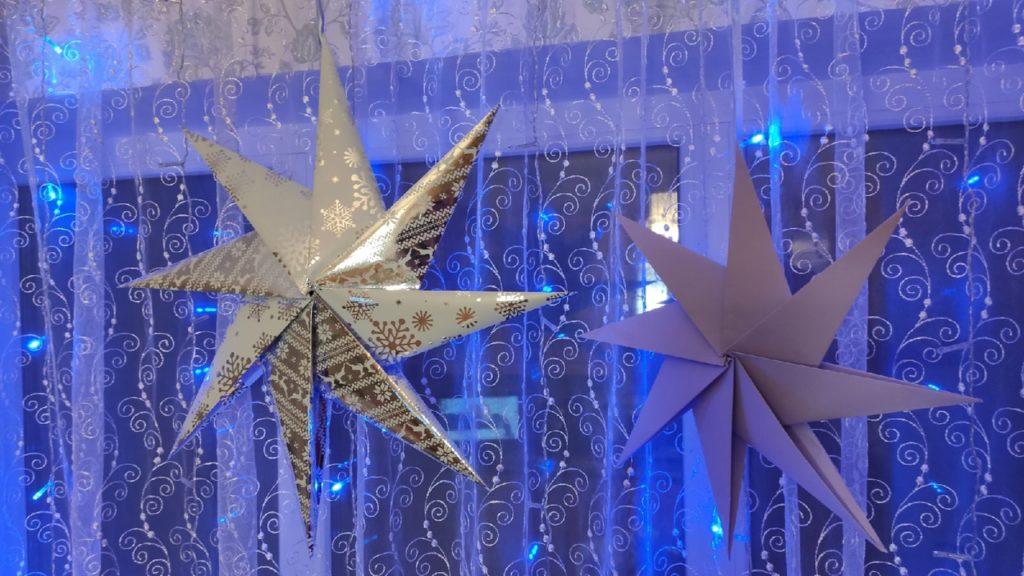 сделать новогоднюю звезду