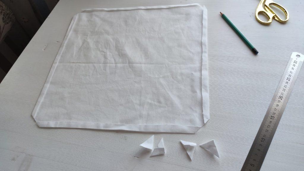 салфетки из простыни