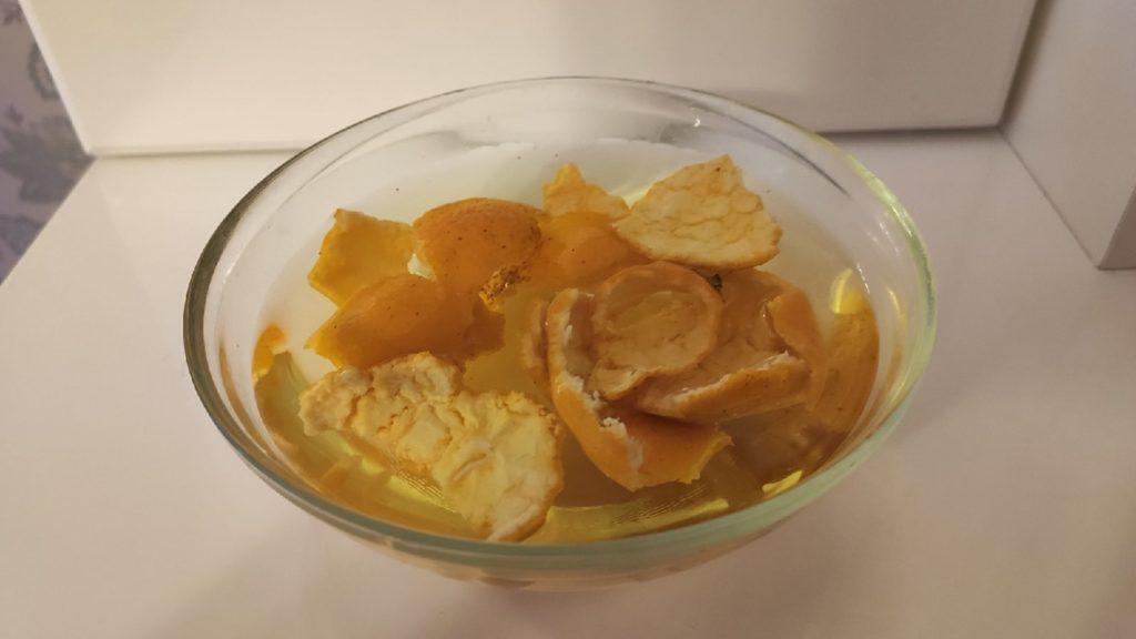 кожура от мандарин