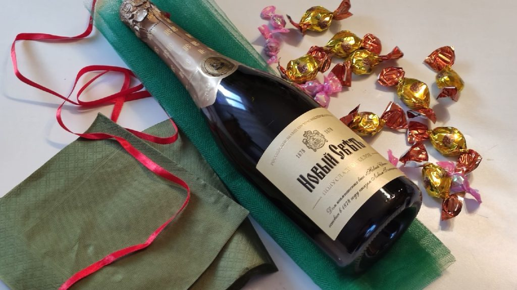 Елочка на шампанское