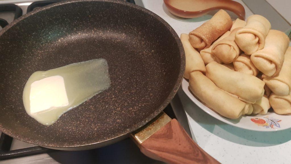 Как приготовить блины с картошкой и грибами