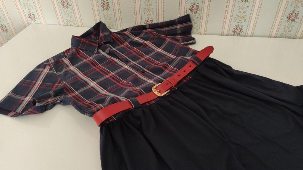 Как сшить платье из рубашки мужа?