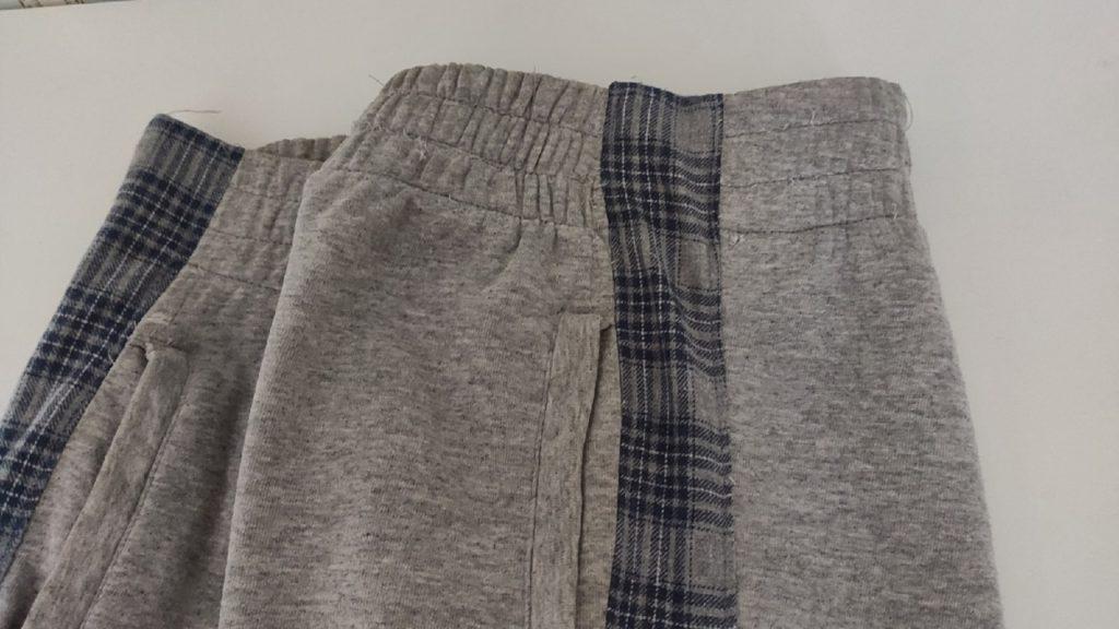 Как увеличить спортивные штаны