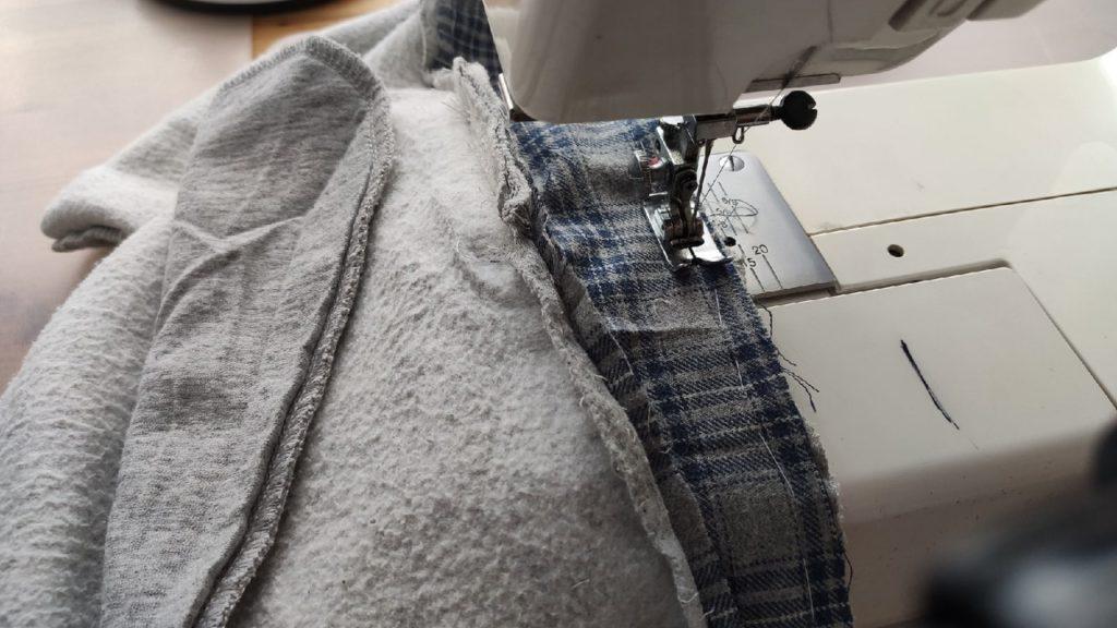 Как увеличить спортивные штаны?