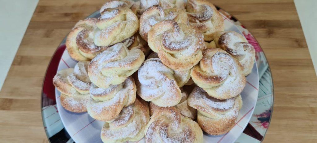 Очень красивое и вкусное творожное печенье