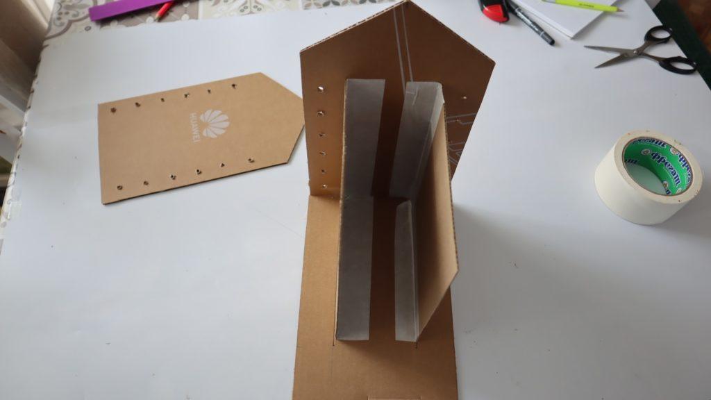 Как сделать органайзер из картон?
