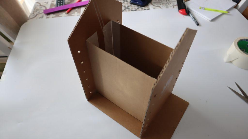 Органайзер из картон