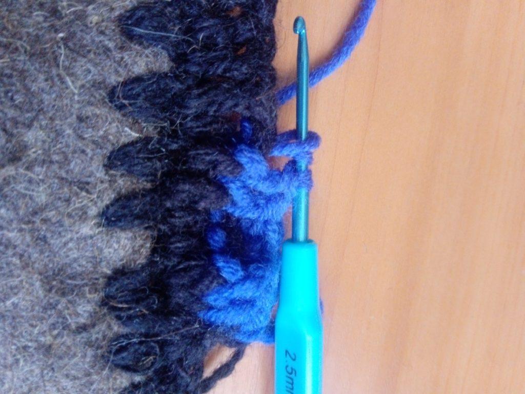 Вяжем тапочки крючком на войлочной подошве