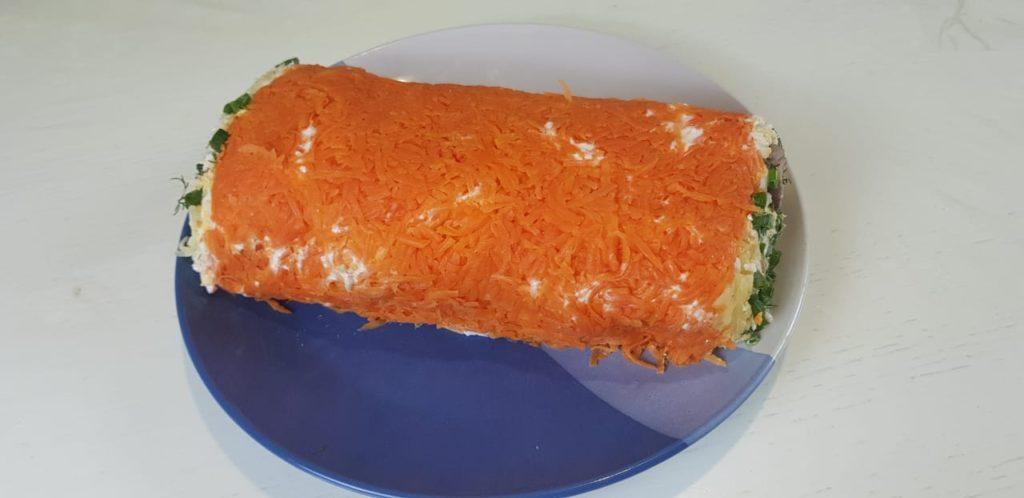 Нежнейший салат с селедкой. Альтернативный вариант селедки под шубой