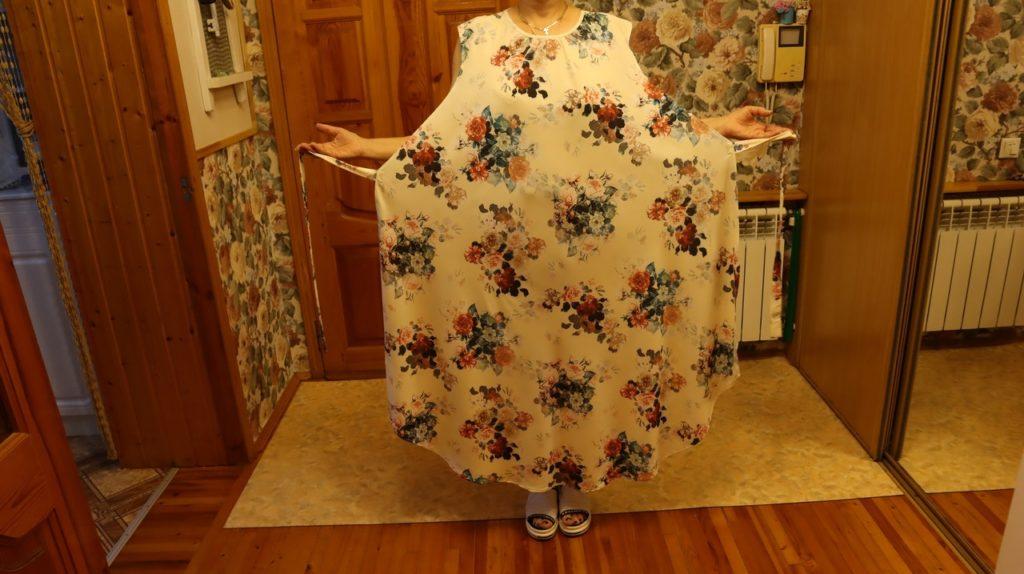 Легкое летнее платье с секретом. Подойдет женщинам с любой фигурой