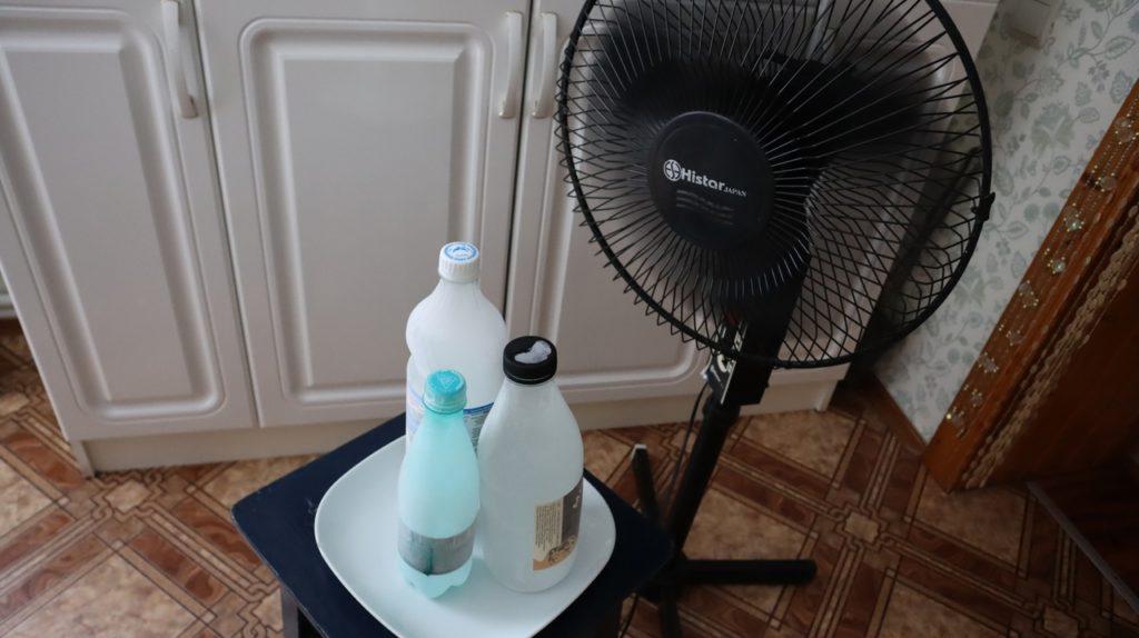 Спасаюсь от жары разными способами